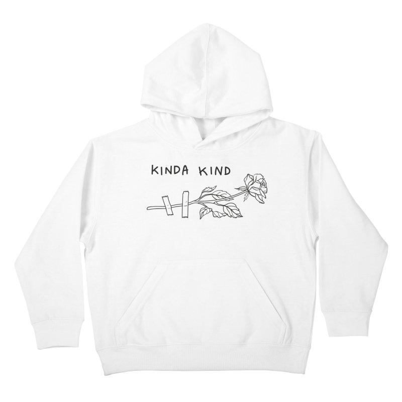 Kinda Kind Kids Pullover Hoody by Karina Zlott