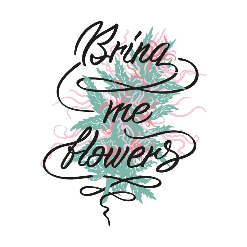 Bring me flowers Men's T-Shirt by Kika