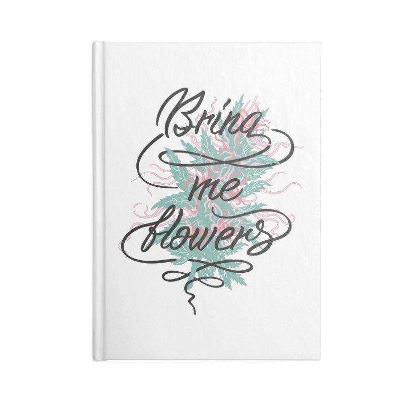Bring me flowers Accessories Notebook by Karina Zlott