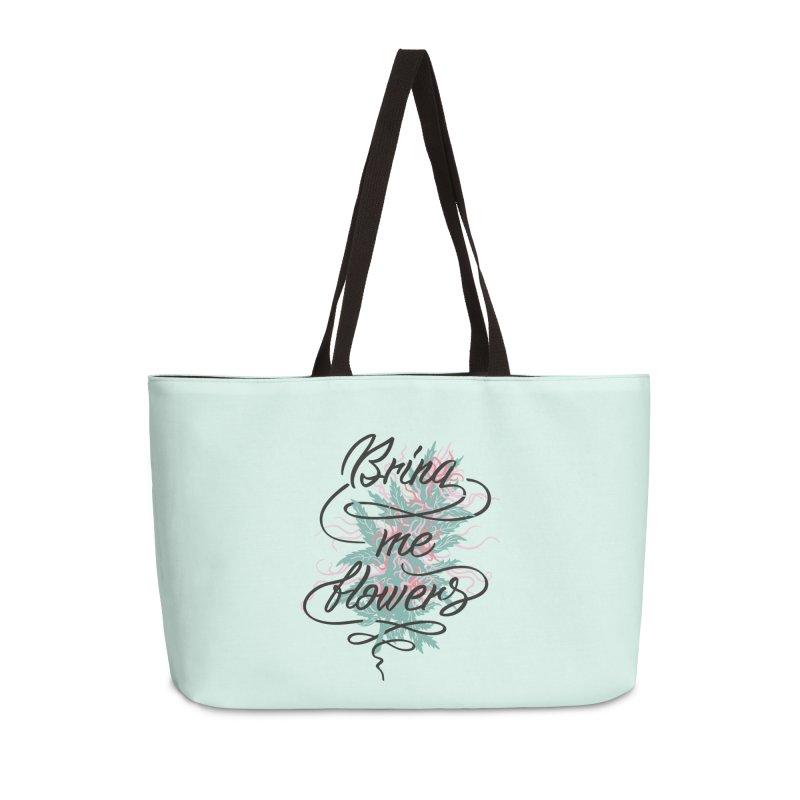 Bring me flowers Accessories Weekender Bag Bag by Kika
