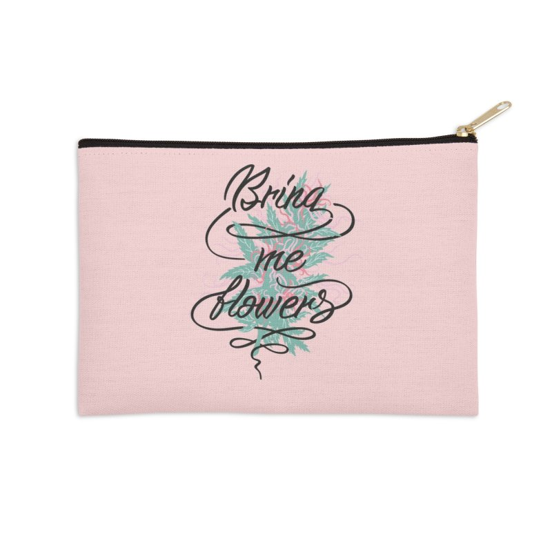 Bring me flowers Accessories Zip Pouch by Karina Zlott