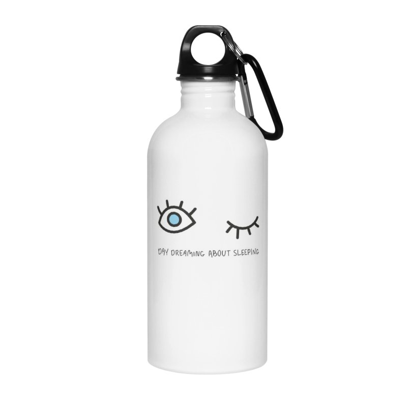 Day dreaming about sleeping Accessories Water Bottle by Karina Zlott