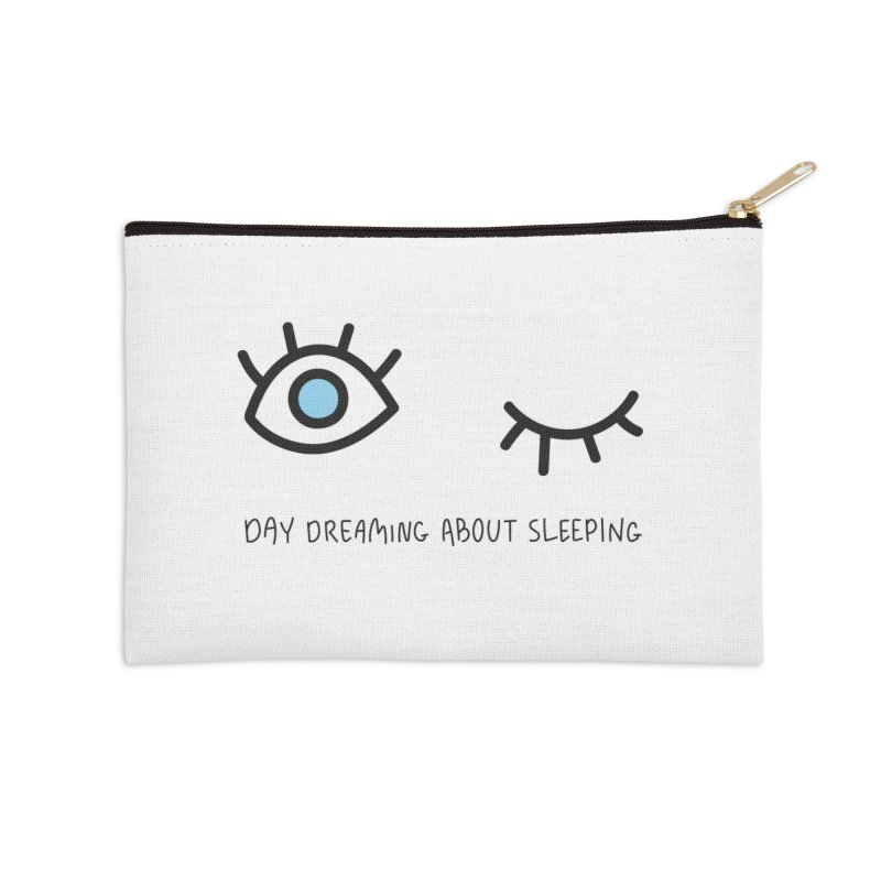 Day dreaming about sleeping Accessories Zip Pouch by Karina Zlott