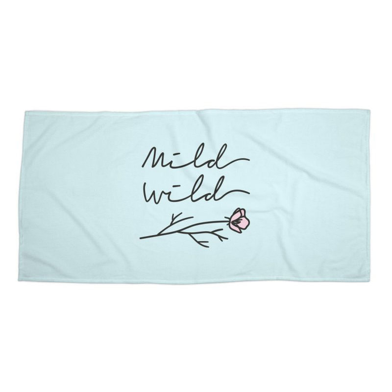 Mild Wild Accessories Beach Towel by Karina Zlott