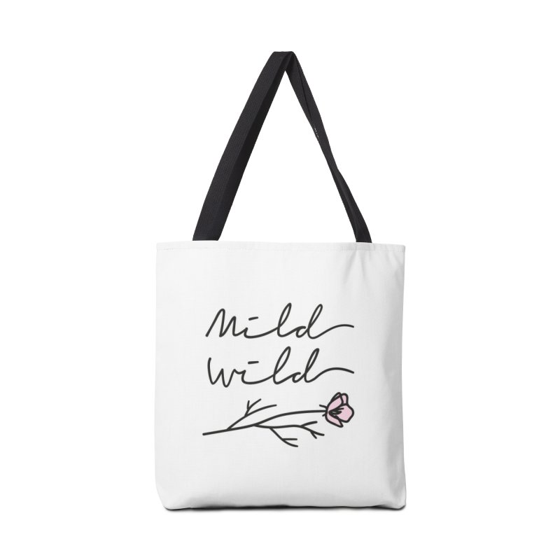 Mild Wild Accessories Tote Bag Bag by Kika