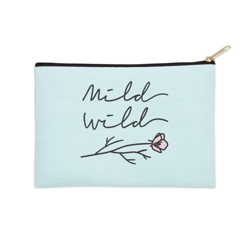 Mild Wild Accessories Zip Pouch by Karina Zlott