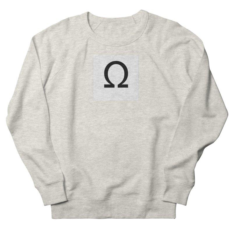 Resist Men's French Terry Sweatshirt by Karmic Reaction Art