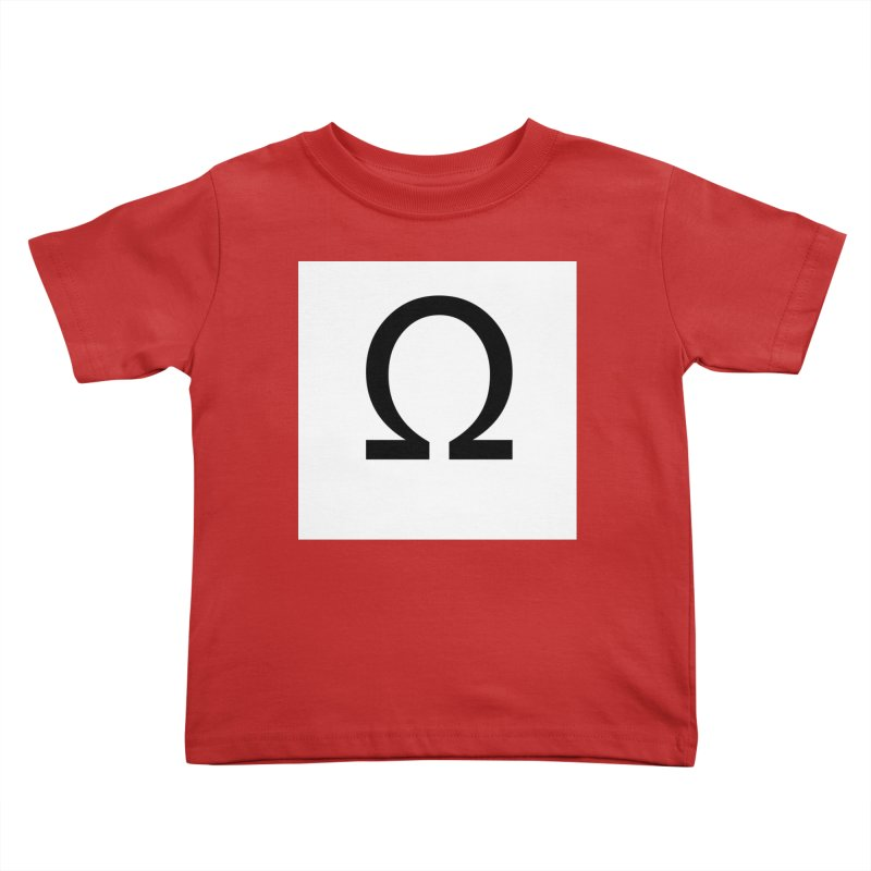 Resist Kids Toddler T-Shirt by Karmic Reaction Art