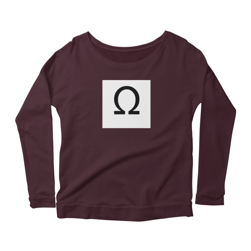 Resist Women's Scoop Neck Longsleeve T-Shirt by Karmic Reaction Art