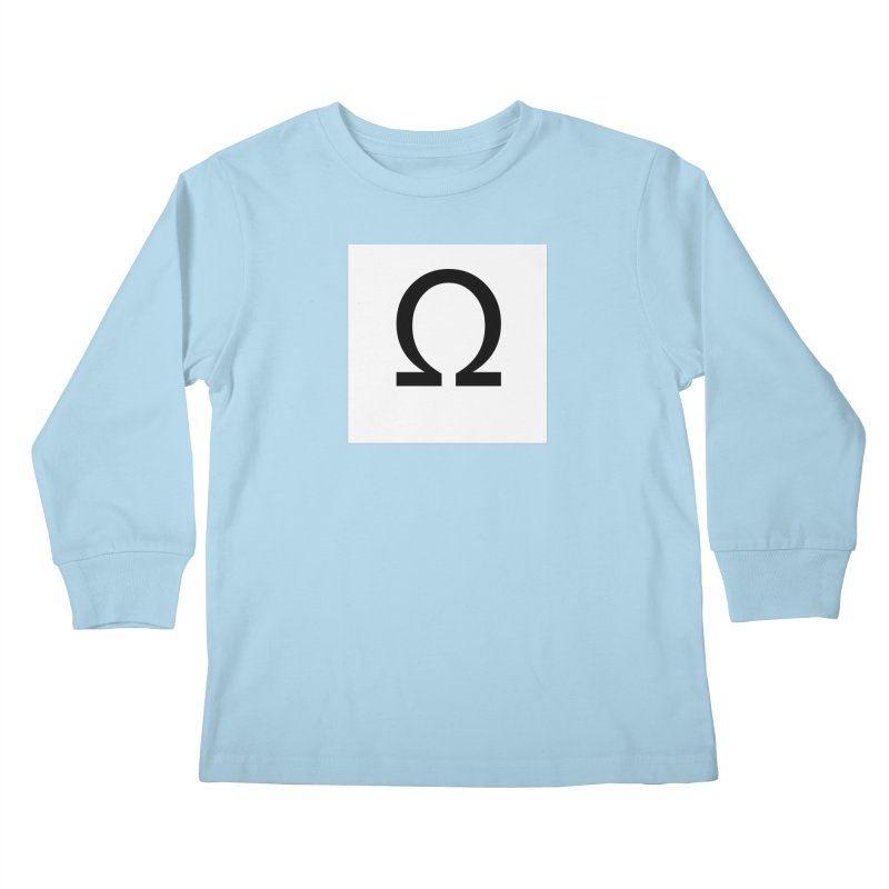 Resist Kids Longsleeve T-Shirt by Karmic Reaction Art