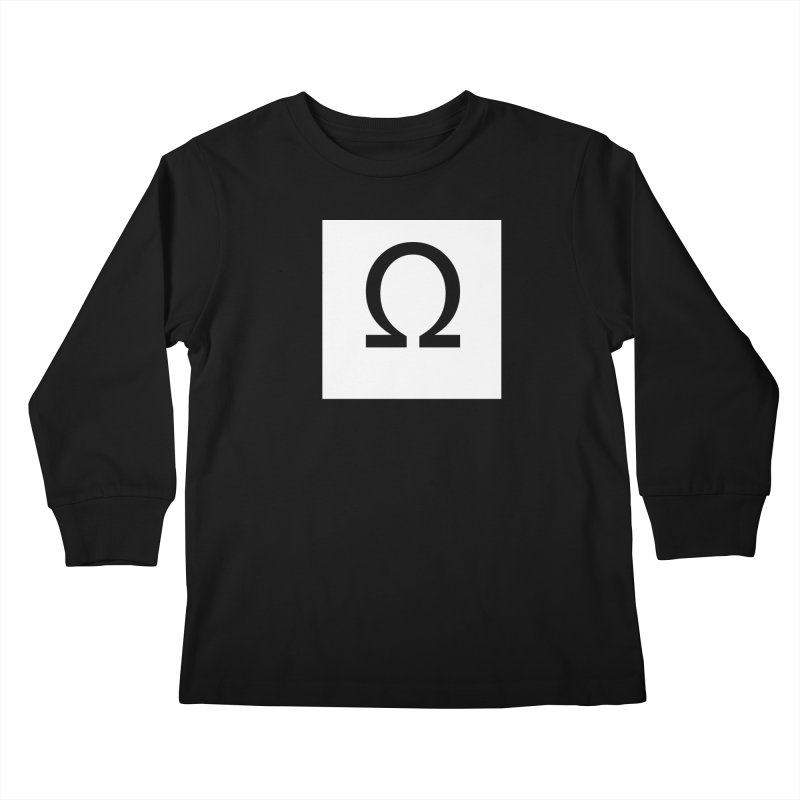 Resist Kids Longsleeve T-Shirt by Karmic Reaction Art
