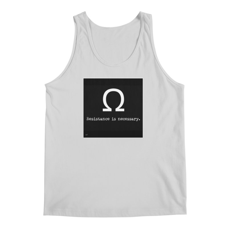 Resistance is Necessary 2 Men's Regular Tank by Karmic Reaction Art