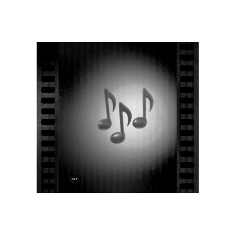 Music: Black and White Home Fine Art Print by Karmic Reaction Art