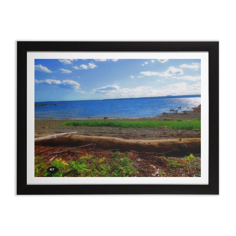 Atlantic Coast 3 Home Framed Fine Art Print by Karmic Reaction Art