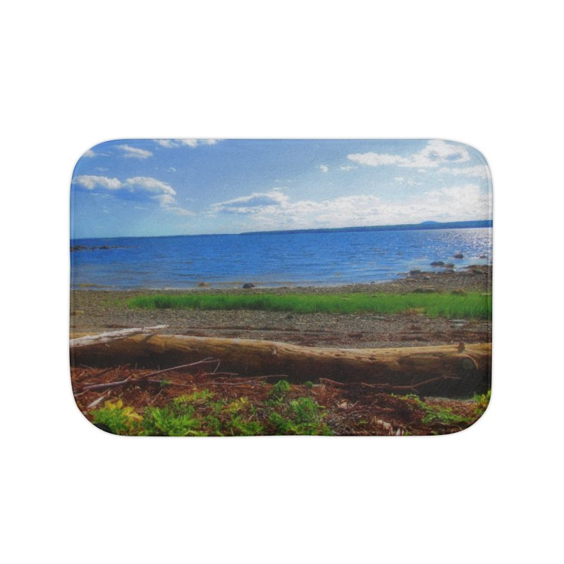Atlantic Coast 3 Home Bath Mat by Karmic Reaction Art