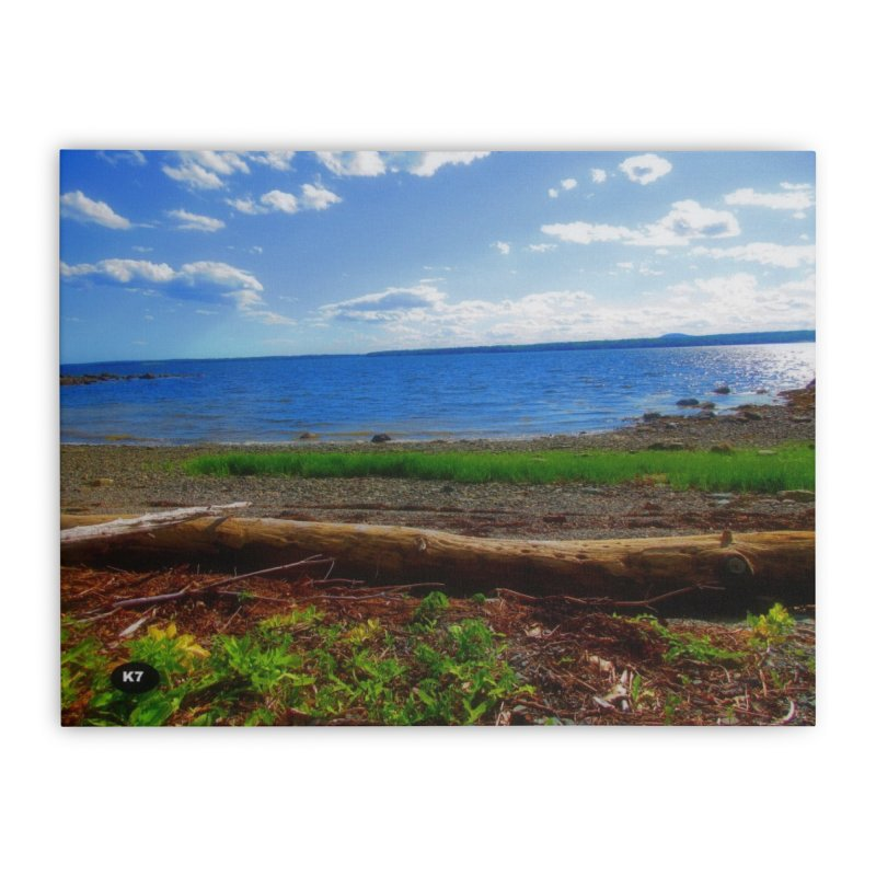 Atlantic Coast 3 Home Stretched Canvas by Karmic Reaction Art