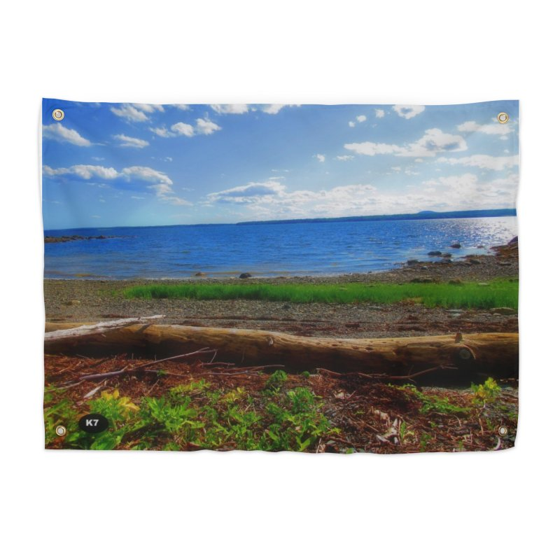 Atlantic Coast 3 Home Tapestry by Karmic Reaction Art