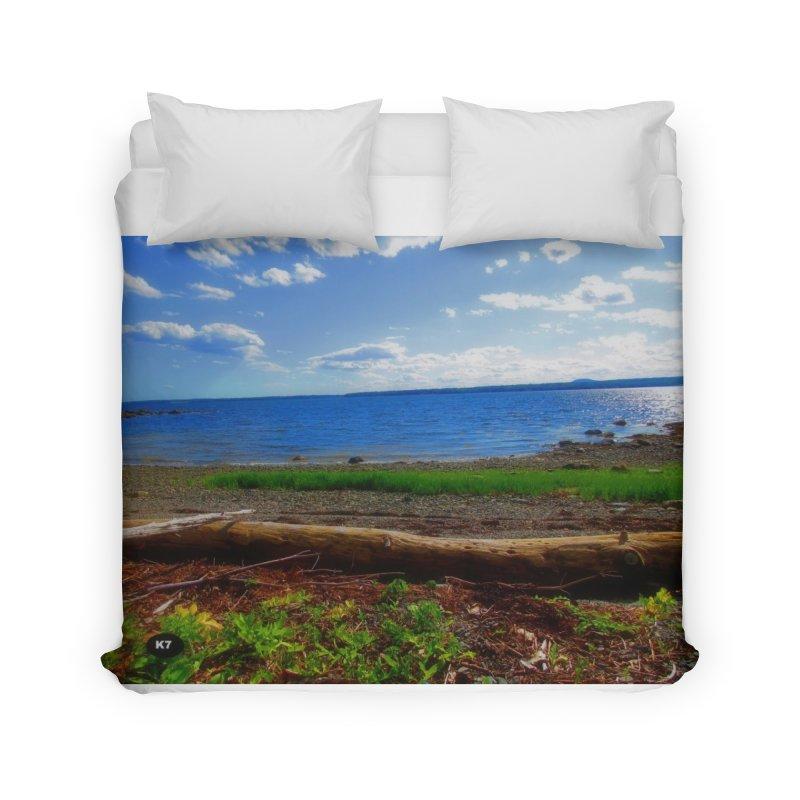 Atlantic Coast 3 Home Duvet by Karmic Reaction Art