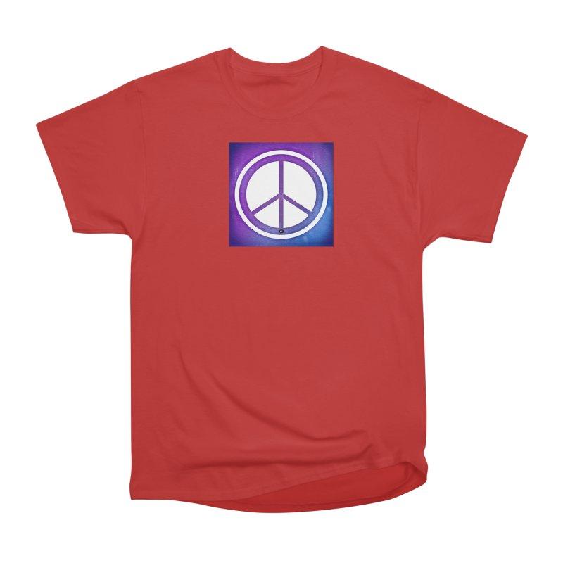 Peace 1 Men's Heavyweight T-Shirt by Karmic Reaction Art