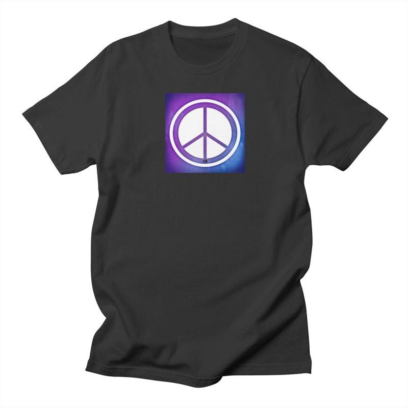 Peace 1 Men's Regular T-Shirt by Karmic Reaction Art