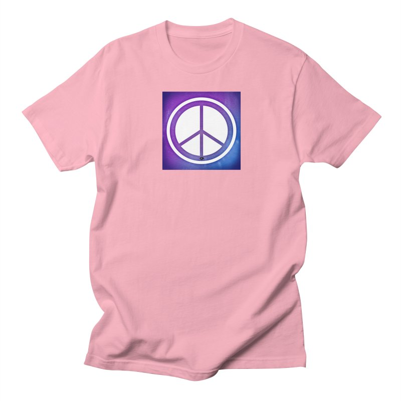 Peace 1 Women's Regular Unisex T-Shirt by Karmic Reaction Art