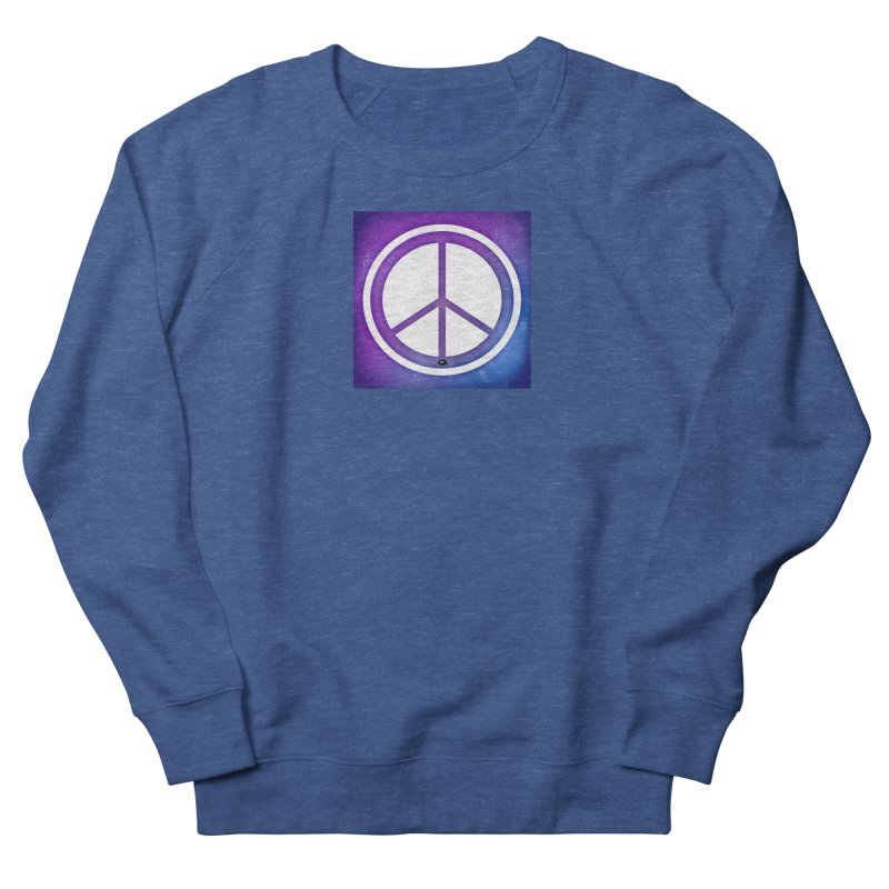 Peace 1 Women's French Terry Sweatshirt by Karmic Reaction Art
