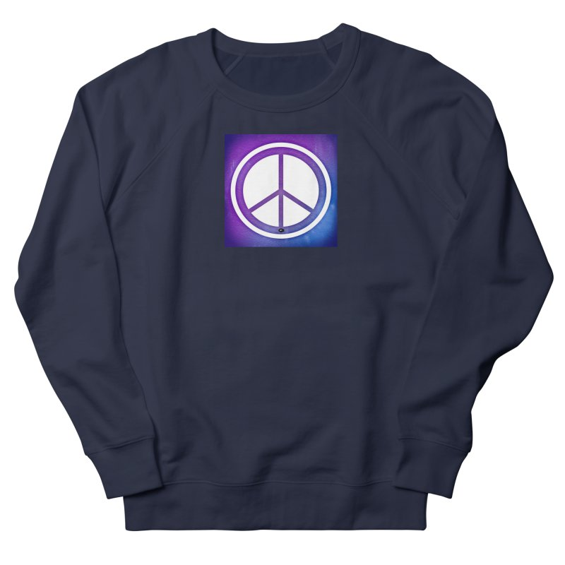 Peace 1 Men's French Terry Sweatshirt by Karmic Reaction Art