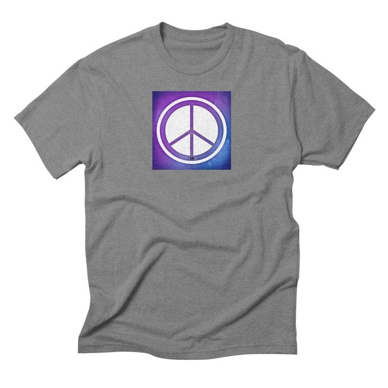Peace 1 Men's Triblend T-Shirt by Karmic Reaction Art