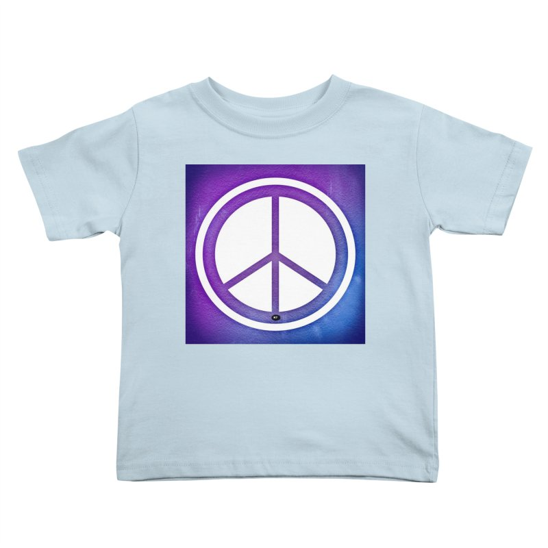 Peace 1 Kids Toddler T-Shirt by Karmic Reaction Art