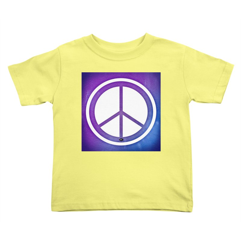 Peace 1 Kids Toddler T-Shirt by Karmic Reaction Art