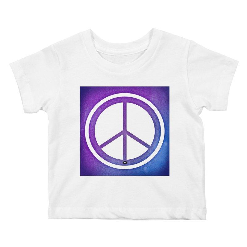 Peace 1 Kids Baby T-Shirt by Karmic Reaction Art