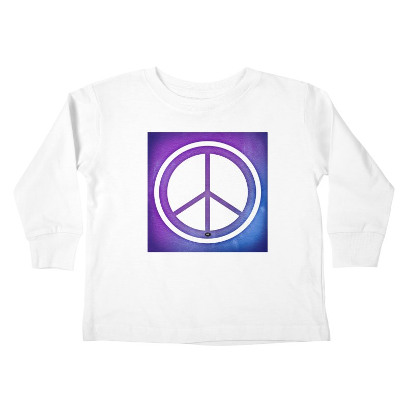 Peace 1 Kids Toddler Longsleeve T-Shirt by Karmic Reaction Art