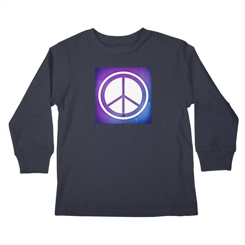 Peace 1 Kids Longsleeve T-Shirt by Karmic Reaction Art