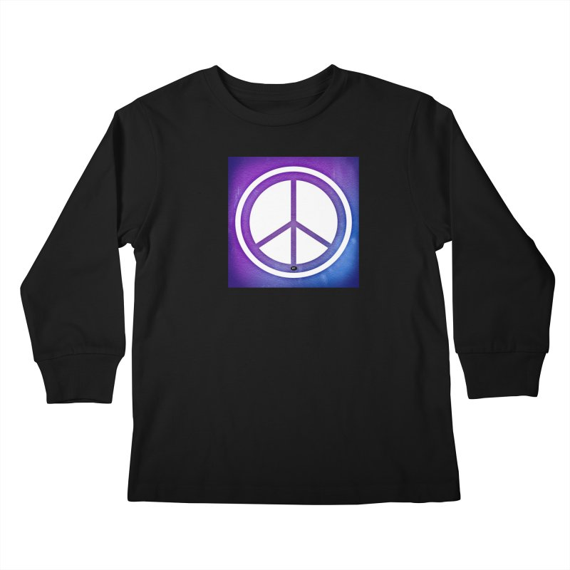 Peace 1 Kids Longsleeve T-Shirt by Karmic Reaction Art
