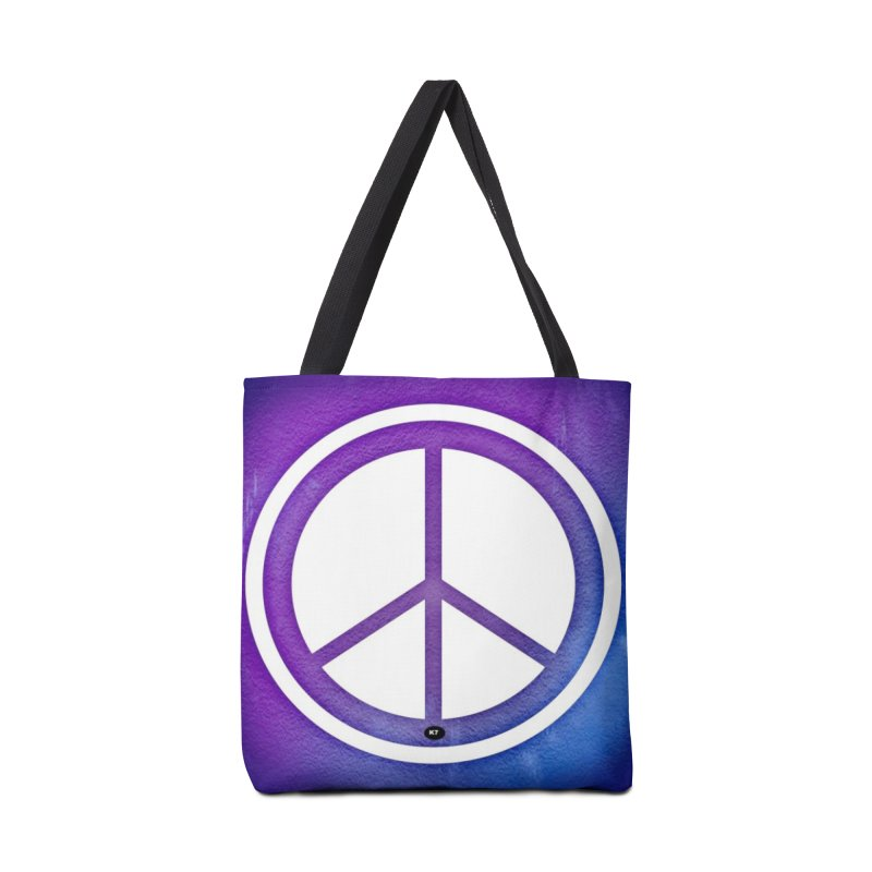 Peace 1 Accessories Tote Bag Bag by Karmic Reaction Art