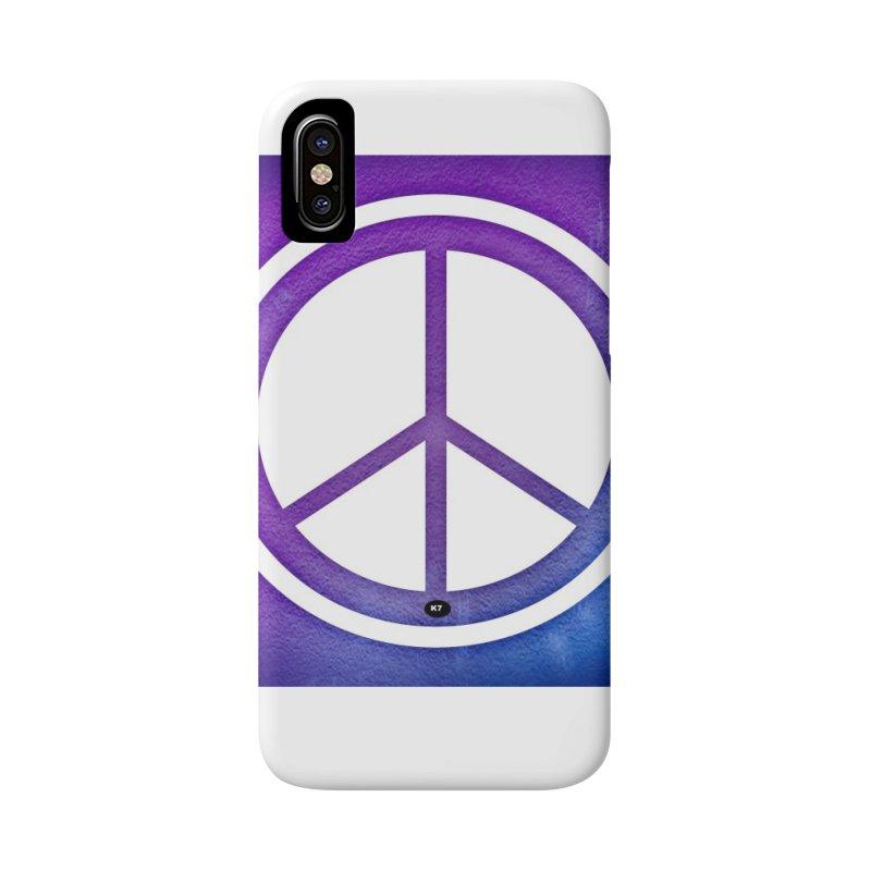 Peace 1 Accessories Phone Case by Karmic Reaction Art