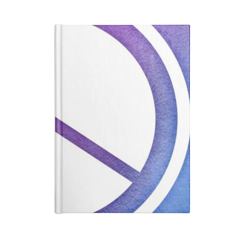 Peace 1 Accessories Blank Journal Notebook by Karmic Reaction Art