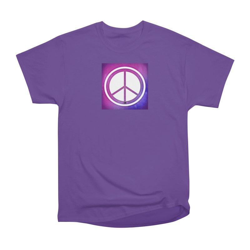 Peace 2 Women's Heavyweight Unisex T-Shirt by Karmic Reaction Art