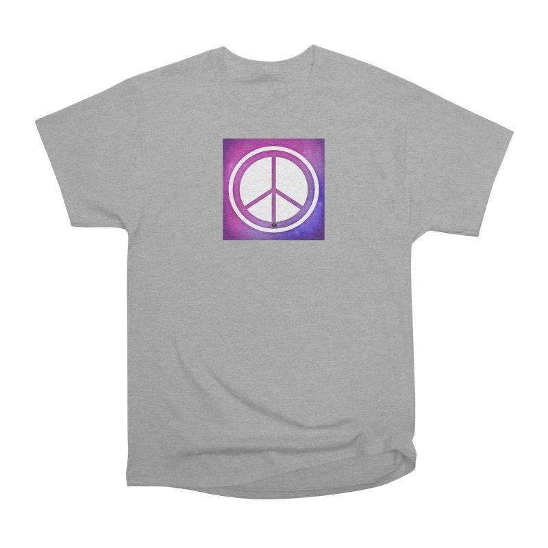 Peace 2 Men's Heavyweight T-Shirt by Karmic Reaction Art