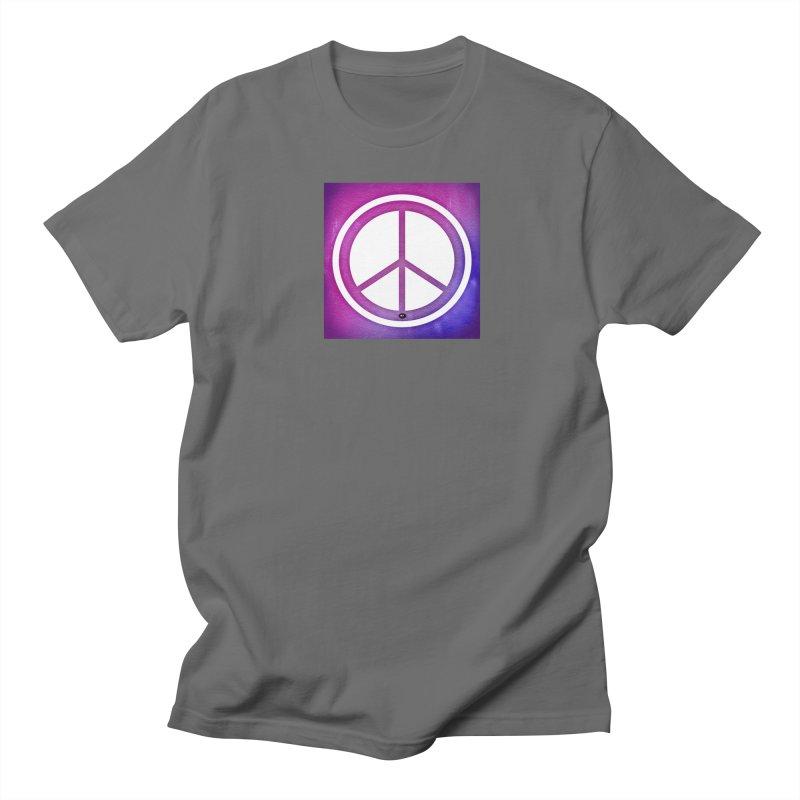 Peace 2 Women's Regular Unisex T-Shirt by Karmic Reaction Art