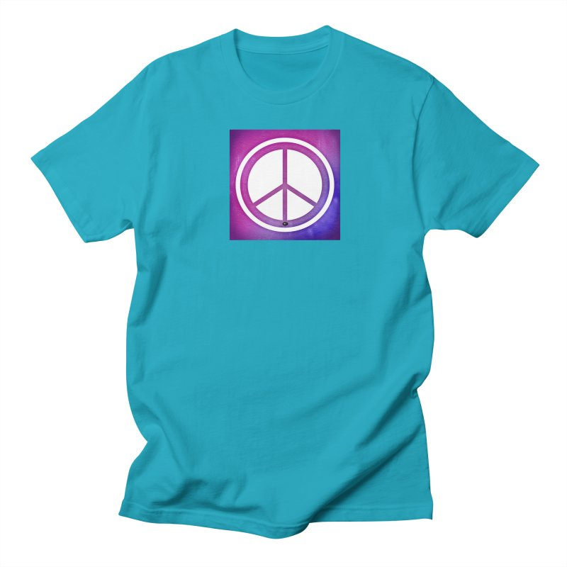 Peace 2 Women's Regular Unisex T-Shirt by Karmic Reaction Art
