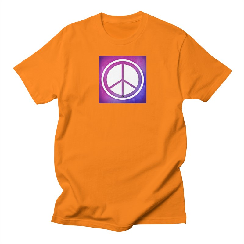 Peace 2 Men's Regular T-Shirt by Karmic Reaction Art
