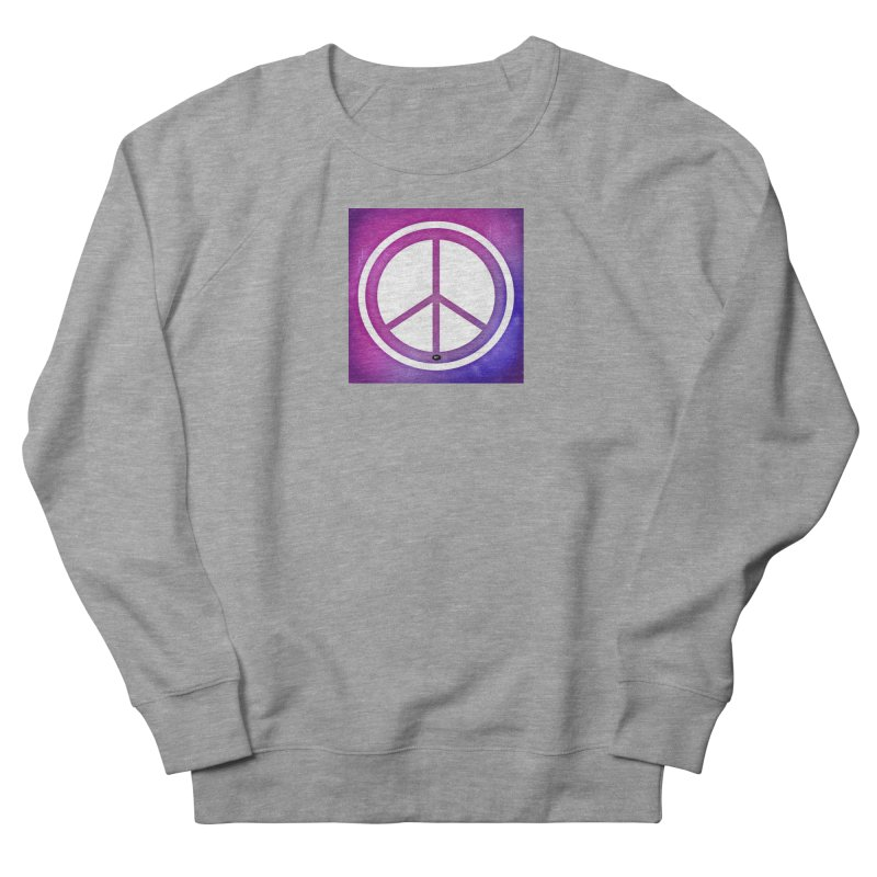 Peace 2 Women's French Terry Sweatshirt by Karmic Reaction Art