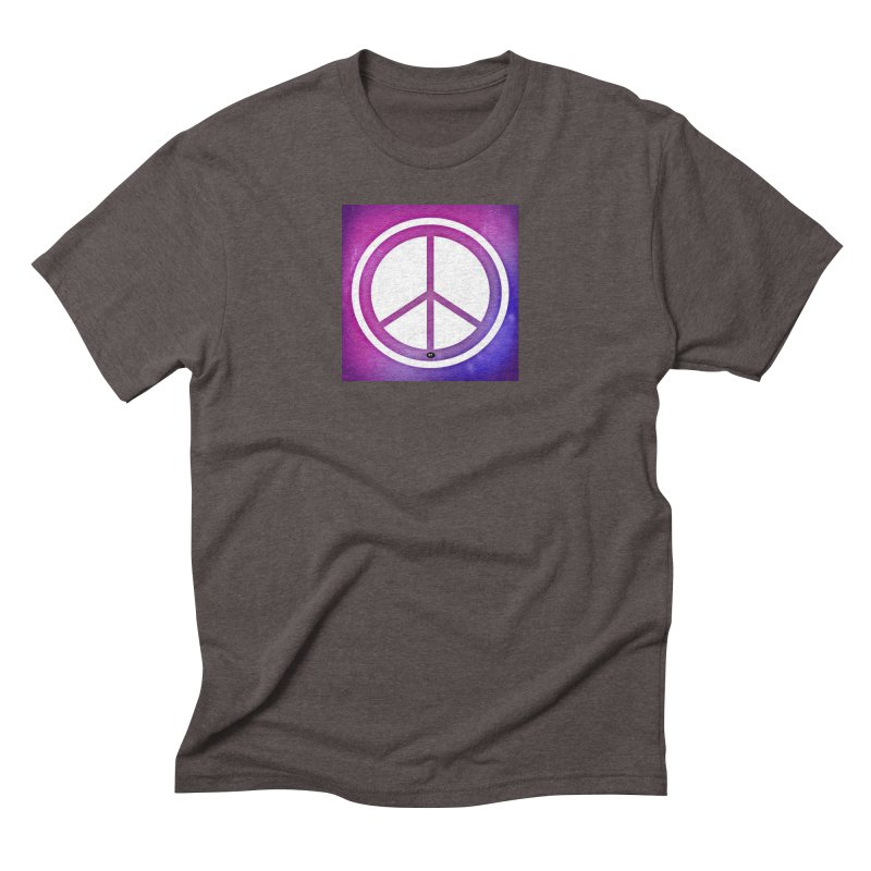 Peace 2 Men's Triblend T-Shirt by Karmic Reaction Art