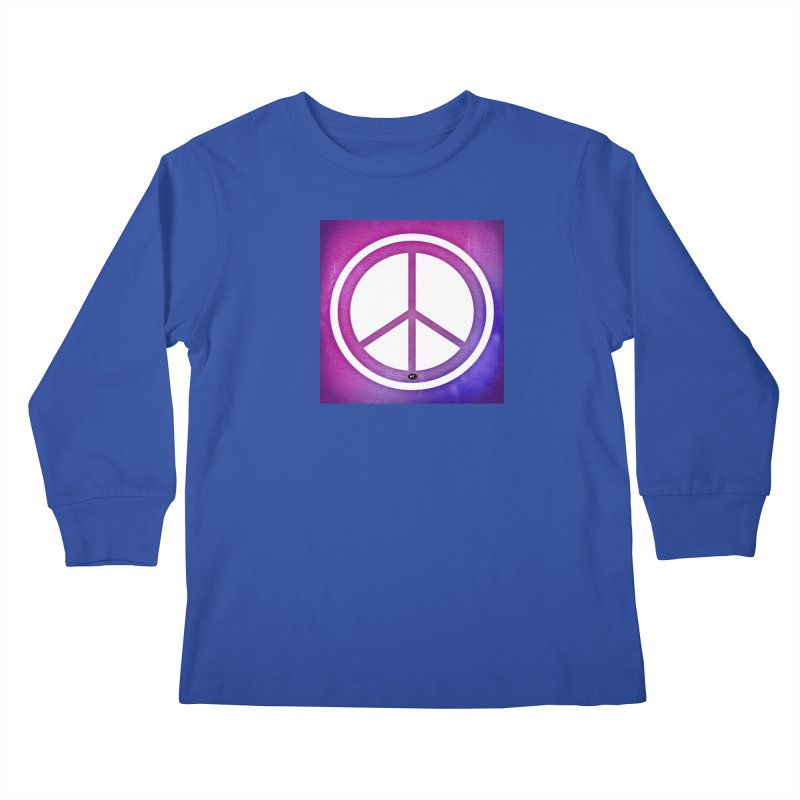 Peace 2 Kids Longsleeve T-Shirt by Karmic Reaction Art