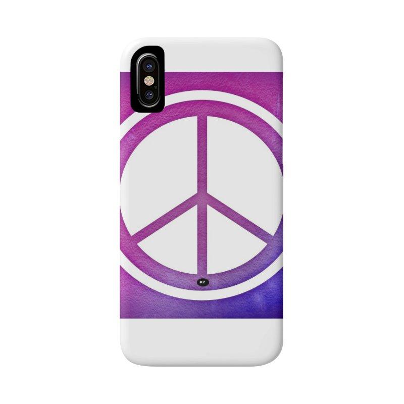 Peace 2 Accessories Phone Case by Karmic Reaction Art