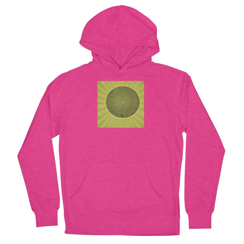 Sunshine Women's French Terry Pullover Hoody by Karmic Reaction Art