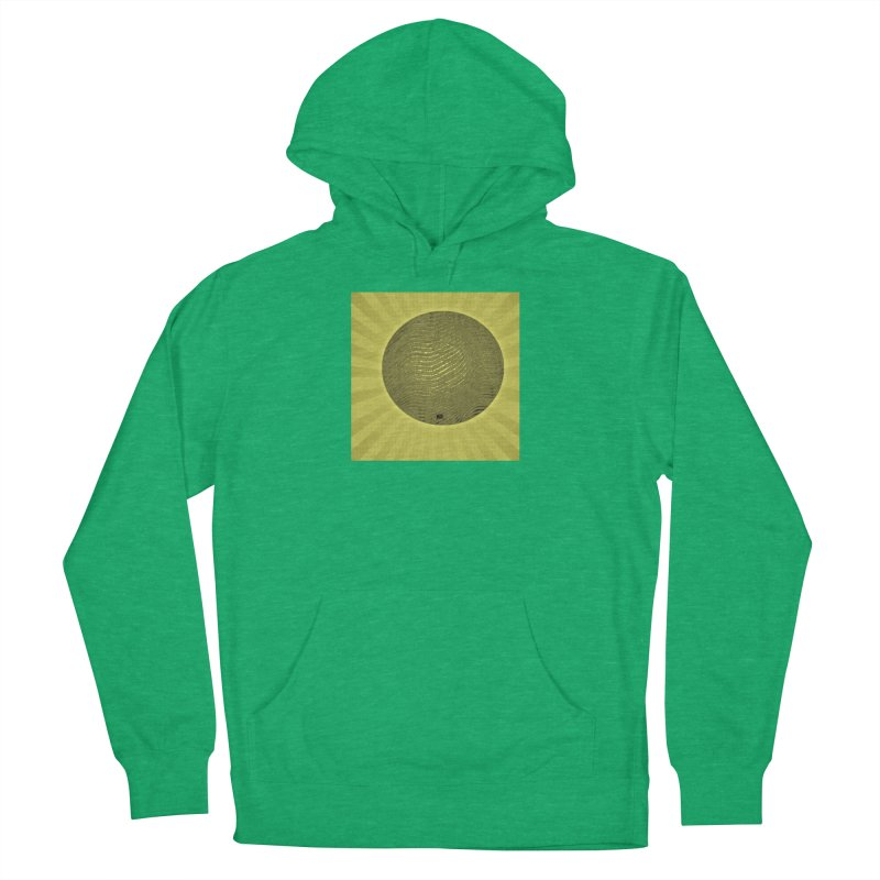 Sunshine Men's French Terry Pullover Hoody by Karmic Reaction Art