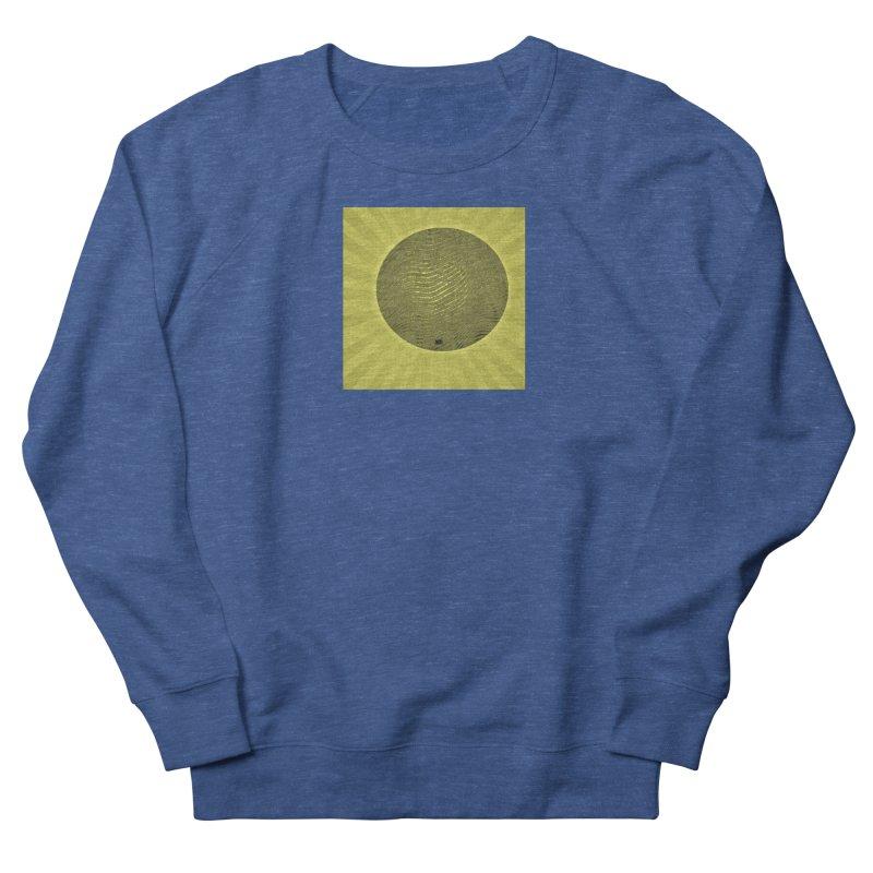 Sunshine Men's French Terry Sweatshirt by Karmic Reaction Art