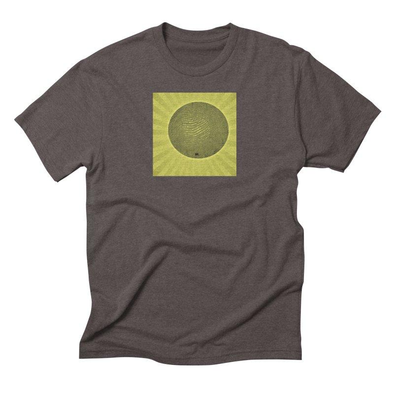 Sunshine Men's Triblend T-Shirt by Karmic Reaction Art